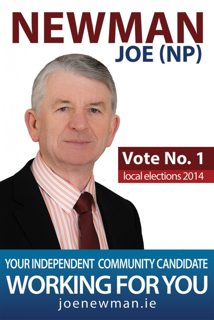 Vote for Joe in 2014 Local Elections