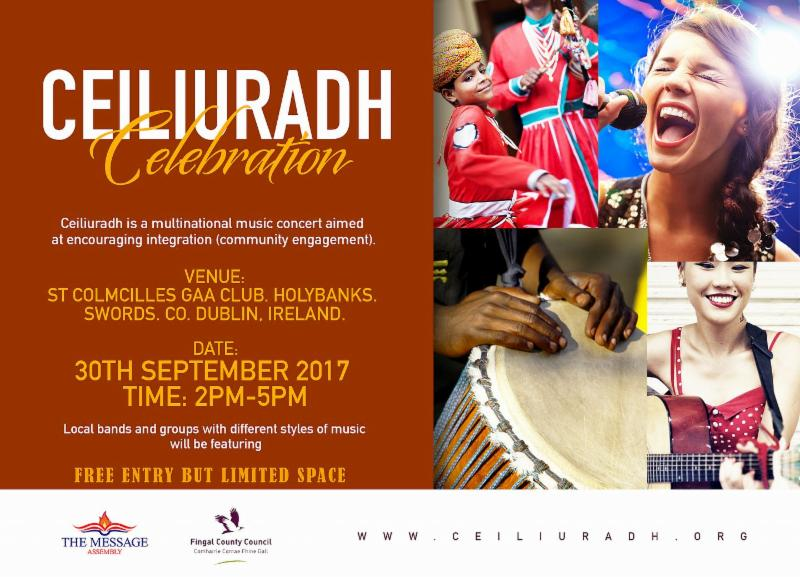 Multinational Musical Concert 30th September 2017